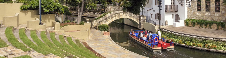 Boat Tour Near Our RV Park In San Antonio