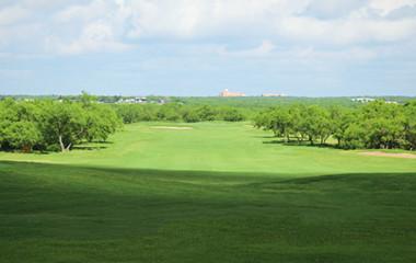 Golf Course Near San Antonio