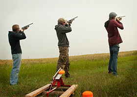 Shooting Range Near RV Park in San Antonio