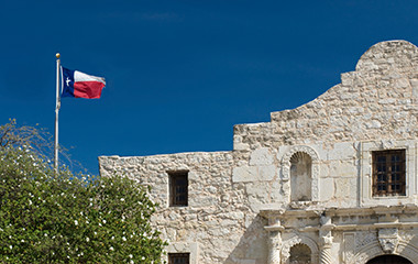 The Alamo Near RV Park In San Antonio