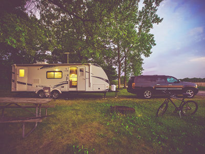 Travel with Your RV to Campgrounds in Timberwood Park
